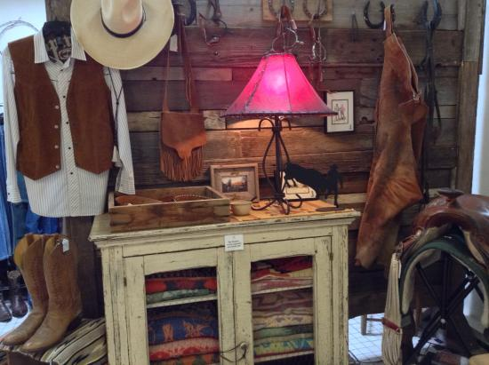 Tubac, AZ: The Cowboy Room is right next door with tons of boots, shirts jackets & cowboy collectibles.