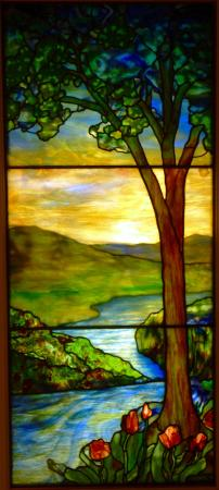 Memorial Art Gallery: Sunset Scene, Tiffany Studios, after 1915