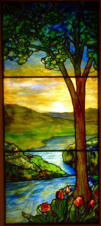 Memorial Art Gallery : Sunset Scene, Tiffany Studios, after 1915