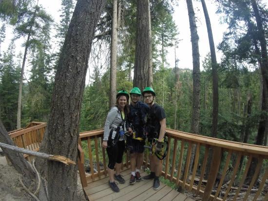 Mountain Springs Lodge: Leavenworth Ziplines