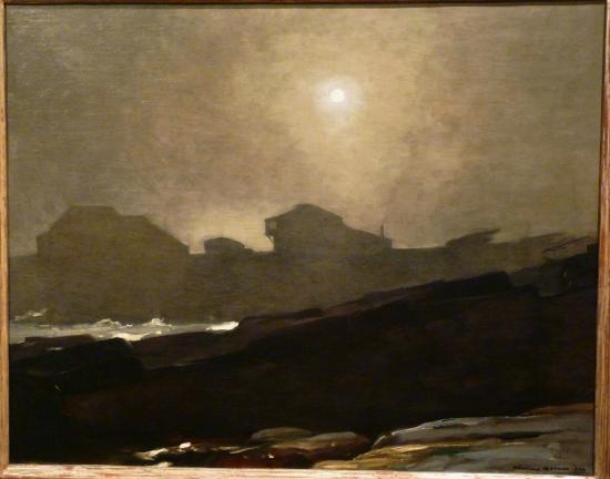 Memorial Art Gallery: The Artist's Studio in an Afternoon Fog, Winslow Homer, 1894
