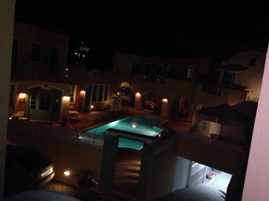 Karterádhos, Griechenland: piscina di notte