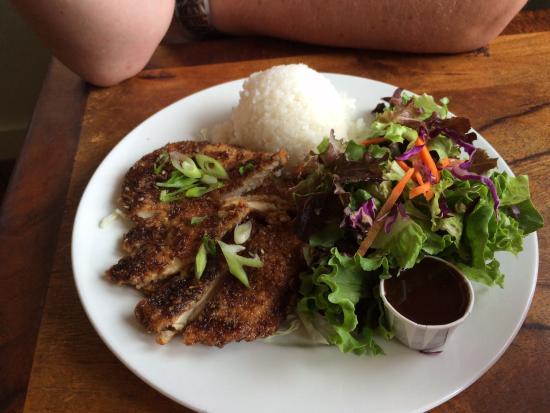 Mahina Cafe: Chicken Katsu