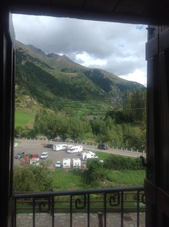 Apartahotel Tres Quiñones: Vista desde la ventana