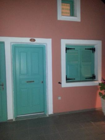 Karterádhos, Grecia: ingresso stanza