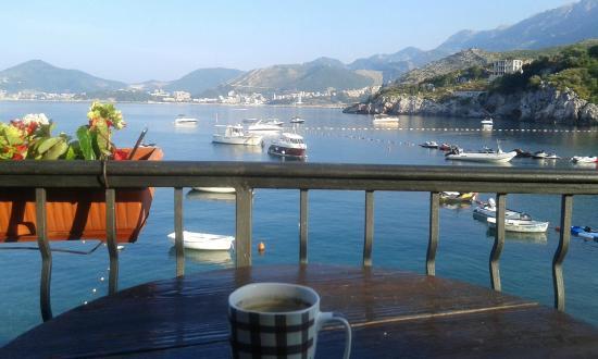 Caffe\' sul Terrazzo - Picture of Apartments Porat, Przno - TripAdvisor