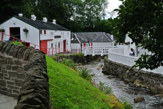 Pitlochry, UK: Edradour distillerie