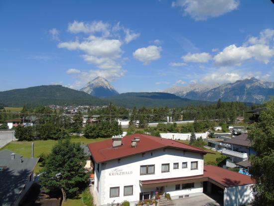 Pension Krinserhof: View from our hotel room