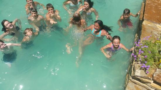 Beaumont Ranch: Some of the kids at Camp Cullin '15 at the Beaumont Pool