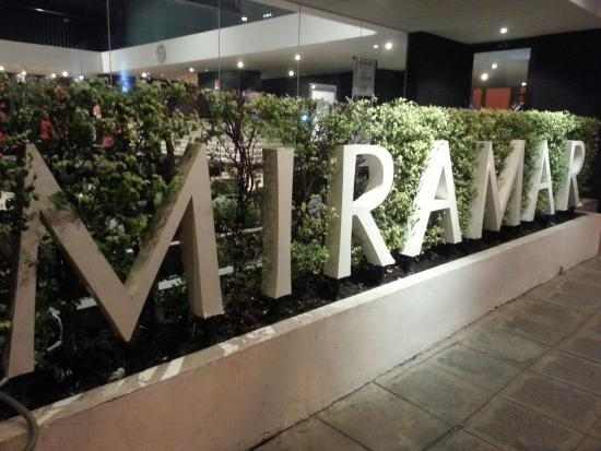 Miramar Hotel Bangkok: Outside signage of the hotel