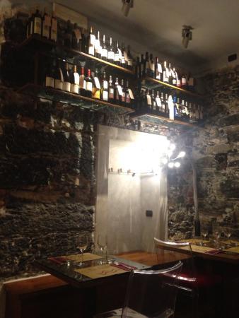 La Bossa di Mario: Зал и винотека 2