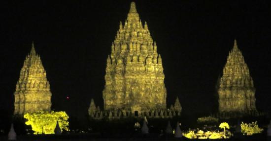Poeri Devata Resort Hotel : View to Prambanan