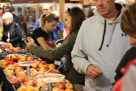 Calgary Farmers' Market : Fresh picked B.C Fruit