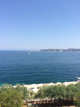 Rezidecija Skiper: Вид с балкона виллы