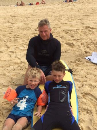 Messanges surf school: Great fun, Really well run, will be going back for more lessons next year! Well worth it, boys c