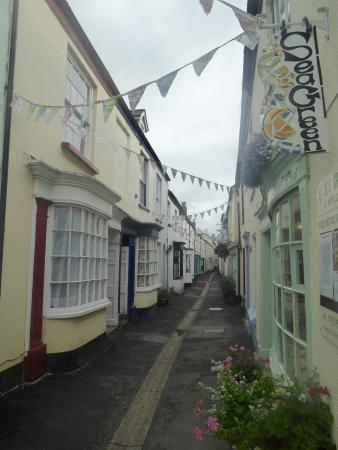 Appledore, UK: Shop on the quaint street
