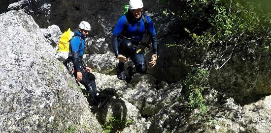 Bureau des Guides de Canyon : Canyoning