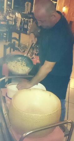Mamma Roma: Best home-made pasta in town made by the chef