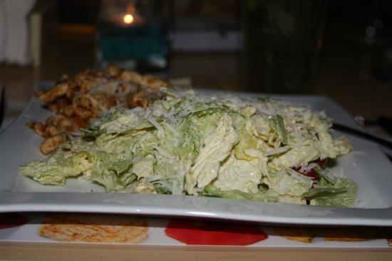 Cafe Fanconi: салат Цезарь