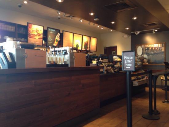 Anderson, Carolina del Sur: Inside Starbucks