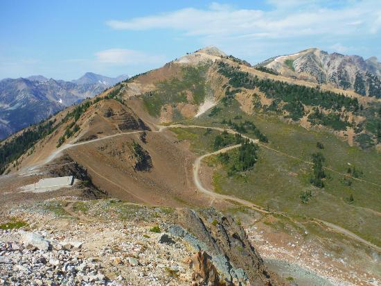 Golden, Kanada: Some mountain bike trail