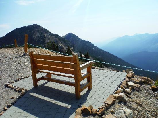 Golden, Kanada: Great view on top