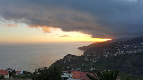 Quinta do Cabouco: The sunset from our room.