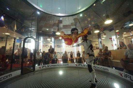 Ifly Va Beach Indoor Skydiving At 1st Visit