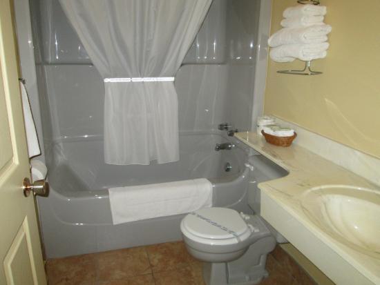 Shallow Bay Motel & Cabins : Lovely bathroom
