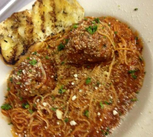 Spaghetti And Meatballs - Picture of Outlaw Grill, Eunice ...