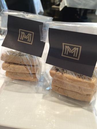 Michael Mina: Salt covered butter cookies