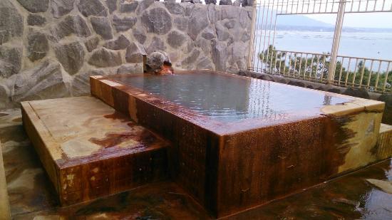 Sakurajima Seaside Hotel: 大浴場