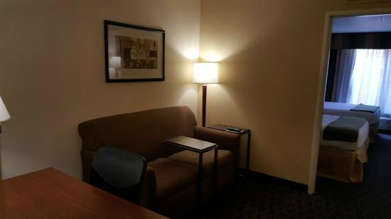 Holiday Inn Express Hotel and Suites Scottsdale - Old Town: Has sofa too in the 1st room