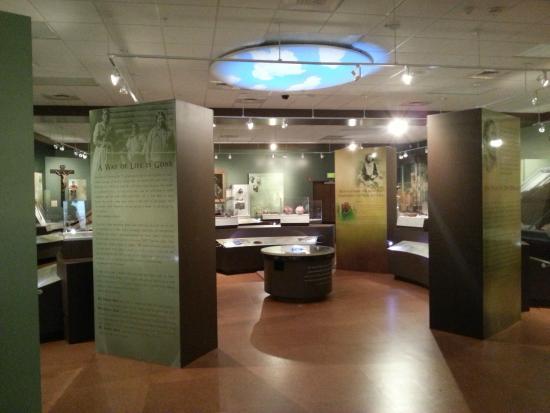 Historic Arkansas Museum: We Walk in Two Worlds exhibit