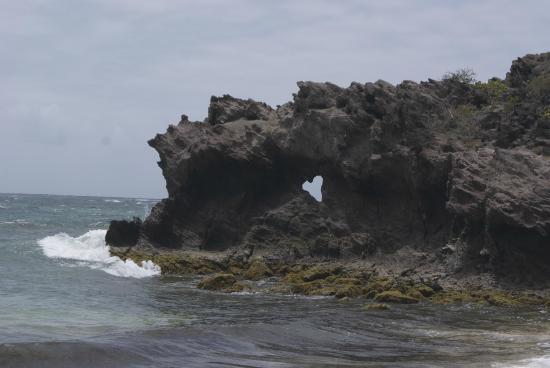 Le Vauclin, Martinique: Anse grosse roche (sur le parcours)
