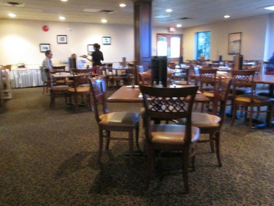 St. Jude Hotel: Breakfast area