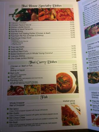 Jensen Beach, Флорида: Thai house specialty & curry dishes