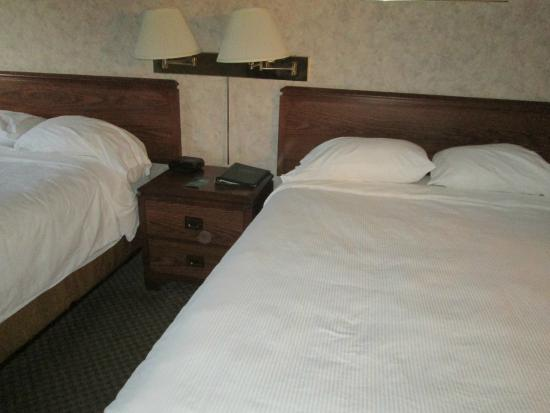 Greenwood Inn & Suites: Beds were squishy