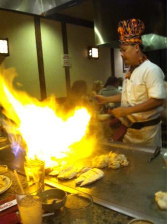 Ichiban Japanese Steakhouse: Fried rice on our Anniversary freshly made at your table
