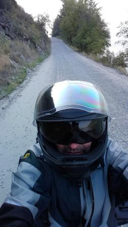 Lillooet Lake Lodge : The Access Road to the Lodge..Motorcycle Heaven