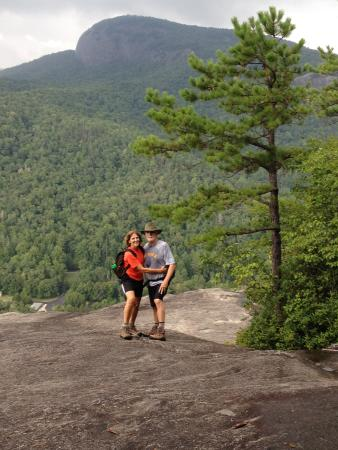 Deerwoode Lodge & Cabins : Hiked to top of John's Rock in Pisgah National Forest only about 20 minutes from the Lodge