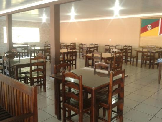 Rosario Oeste, MT: Vista do Restaurante