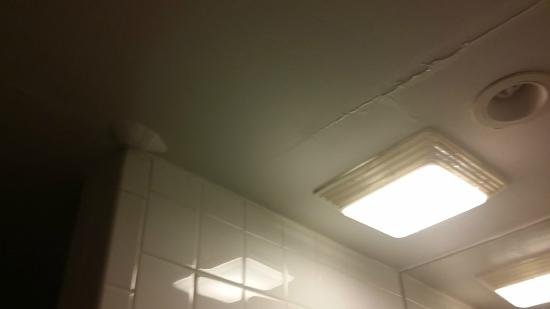 The Atlantic: Leaking bathroom ceiling from the suite above mine