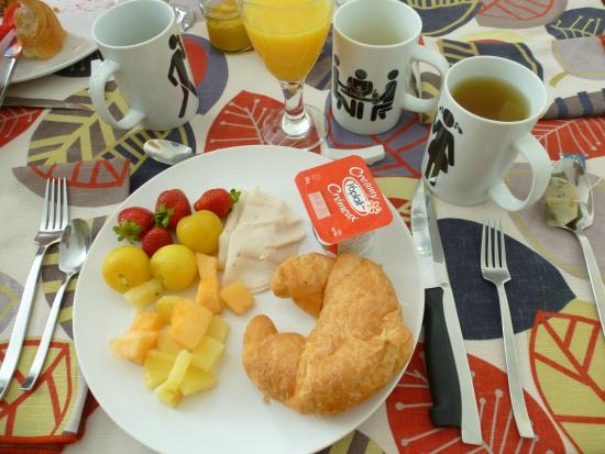 Gite Confort: my enjoyable breakfast
