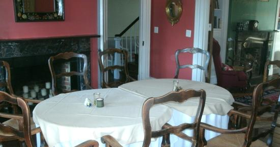 Saint Mary's City, MD: Dining area