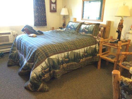 Woodsman Country Lodge : Our Cozy Room