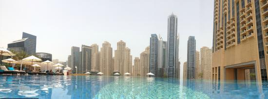Shades pool at the address dubai marina picture of The address dubai marina swimming pool