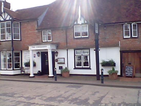 The Chequers Inn Lamberhurst The Bdwy Restaurant