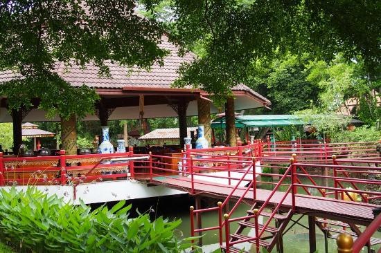 Tao Garden Health Spa & Resort: Restaurant area
