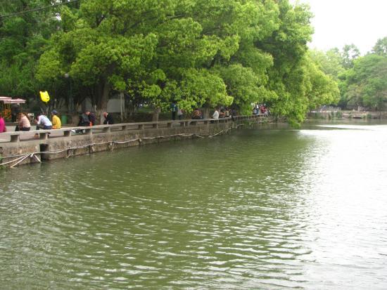 Ma'anshan, China: На озере города Мааньшань